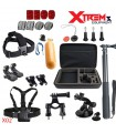Set 26 accesorii compatibile Gopro, Geanta XL, Selfie Stick, Maner Floating X02
